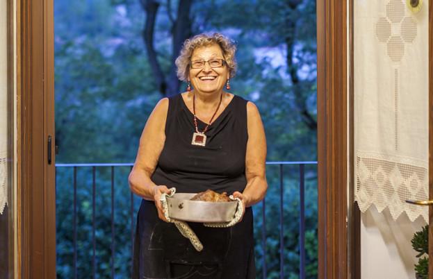 Silvana Ghillani with her Punta al forno