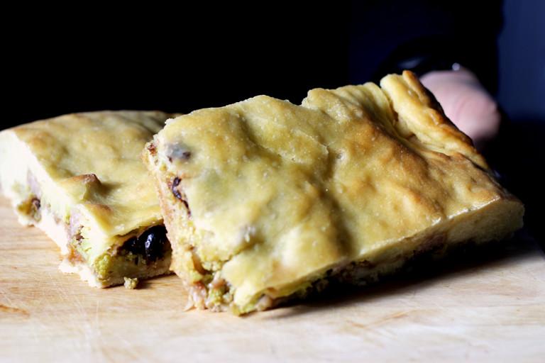 Scacciata catanese – Sicilian cheese pie recipe