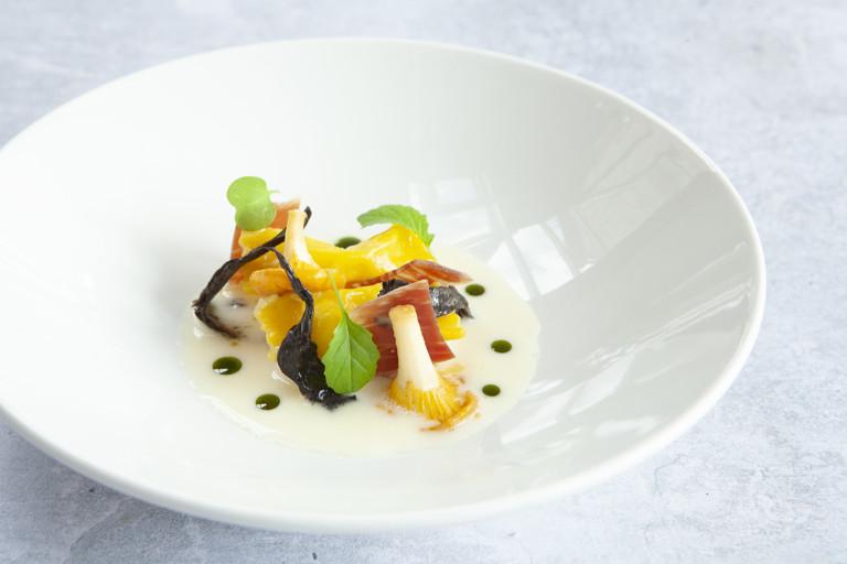 Celeriac and Le Gruyère AOP agnolotti