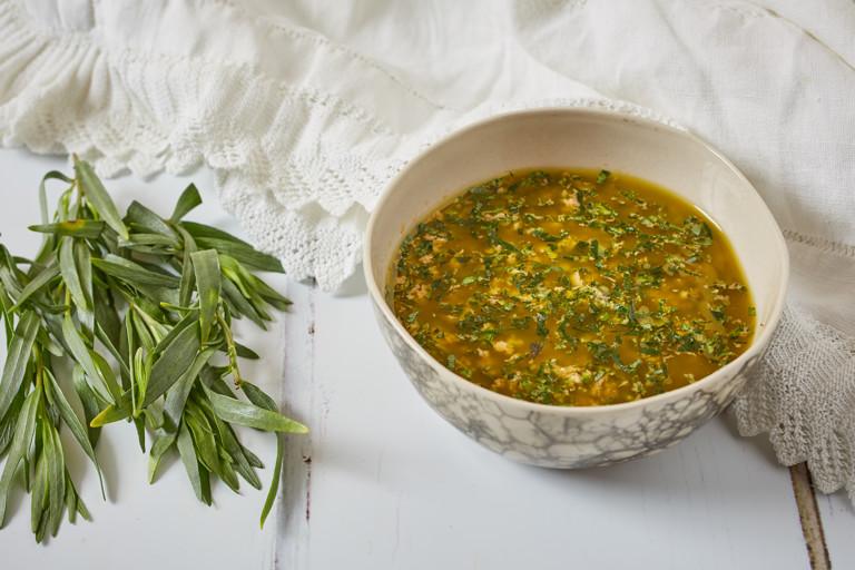 Salsa al dragoncello – Tarragon salsa