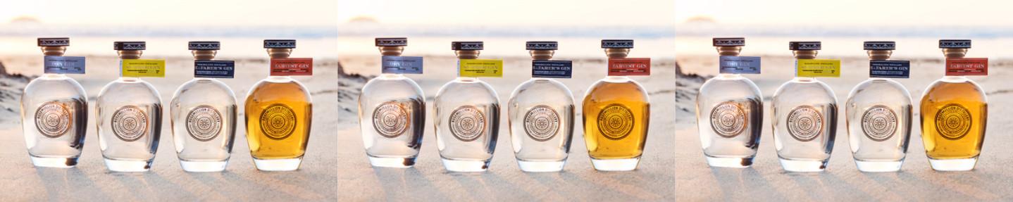 Win a 4-bottle gin or rum bundle