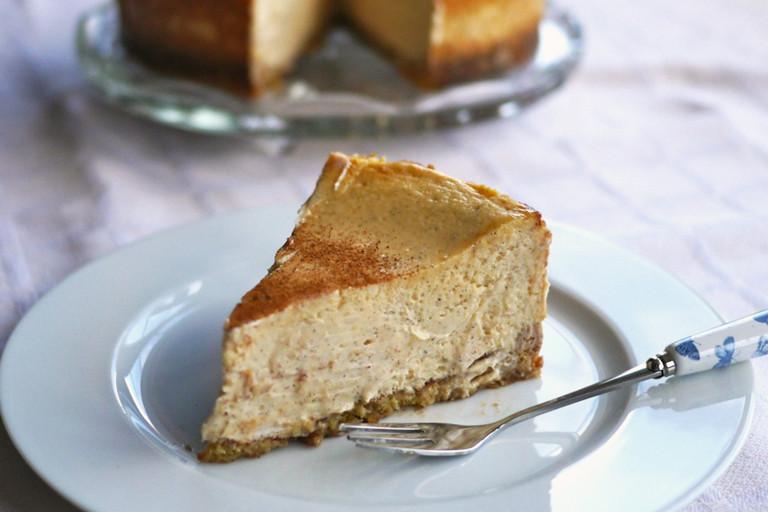 Gluten-free Cinnamon Cheesecake