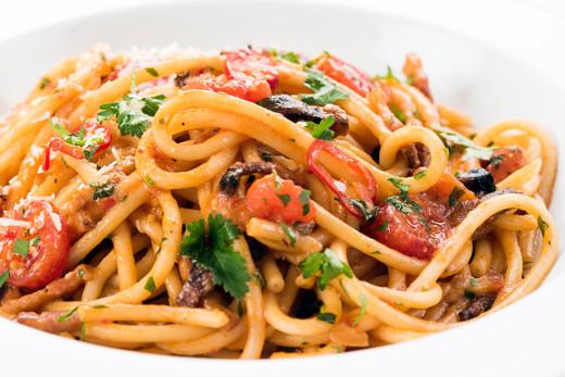 Seafood Spaghetti Recipe - Kids Recipes - Great British Chefs