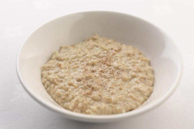 Pinhead oat porridge