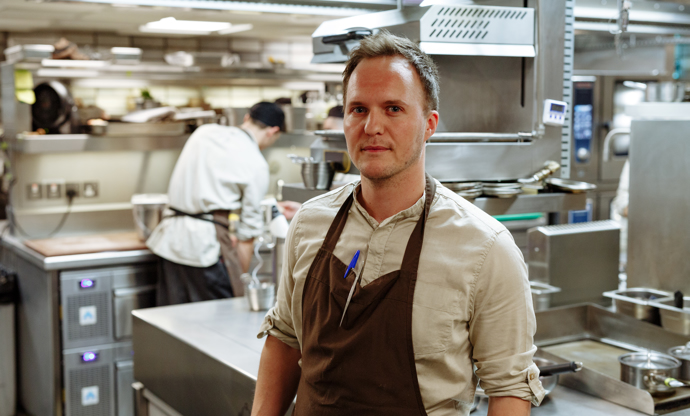 Josh Angus: Hide Ground's all-star head chef