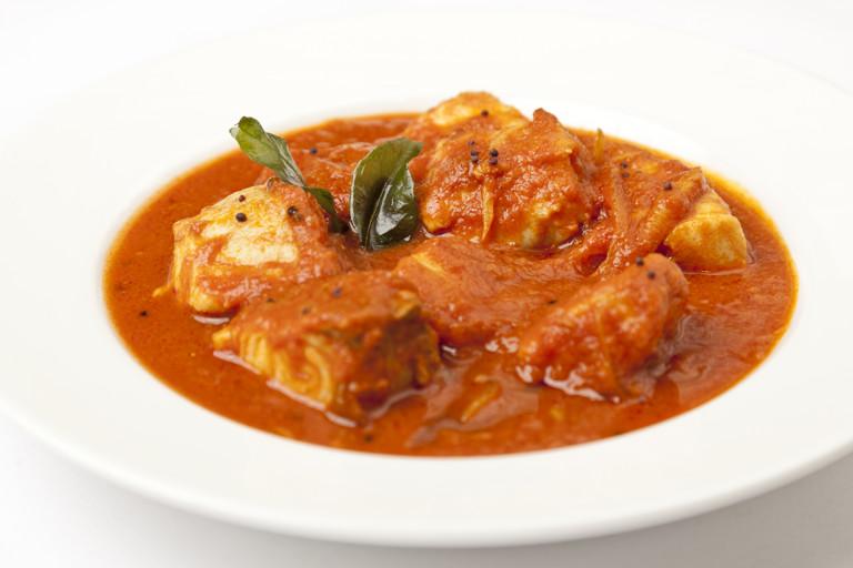 Monkfish curry