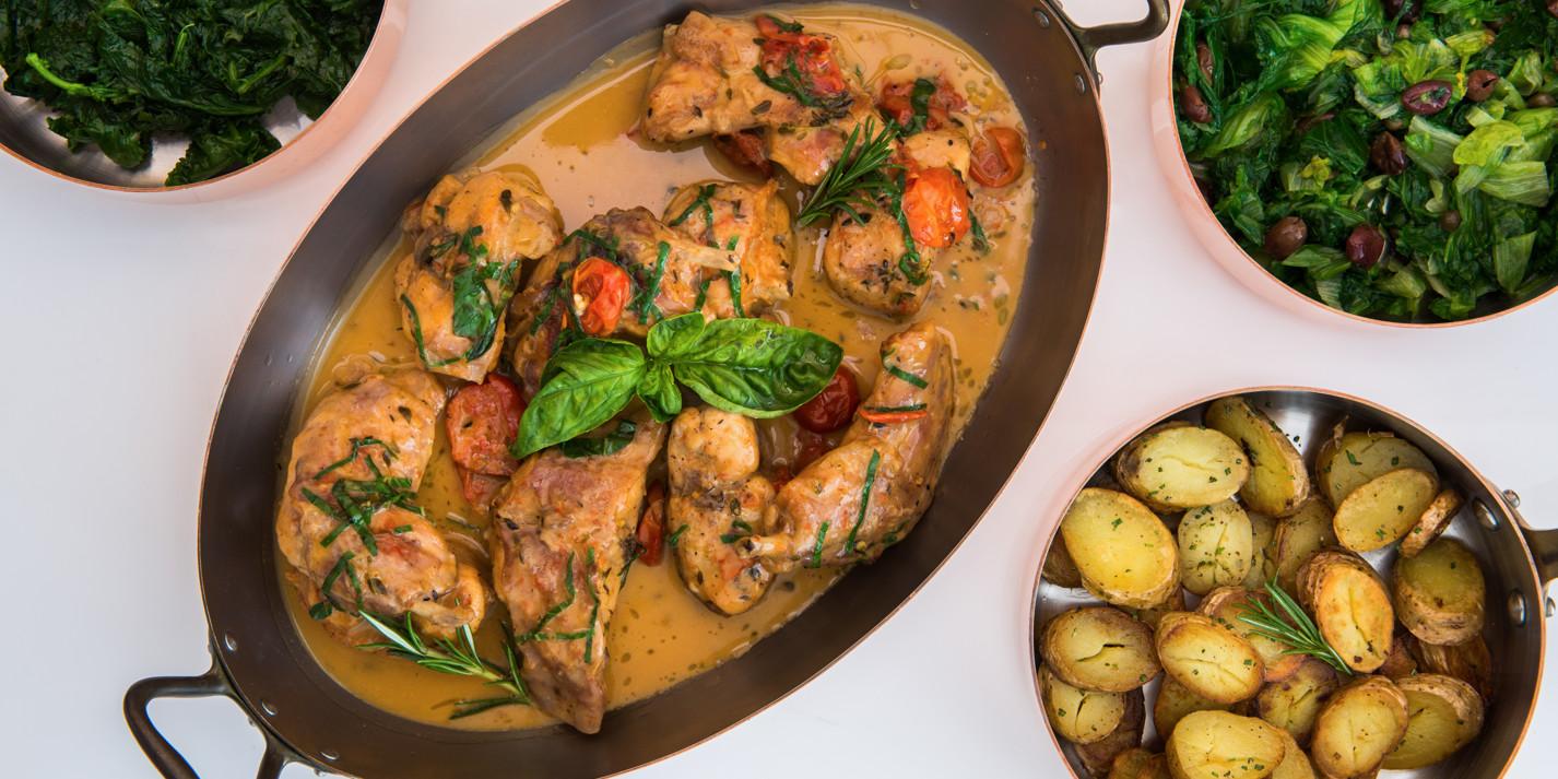 Italian dinner party recipes