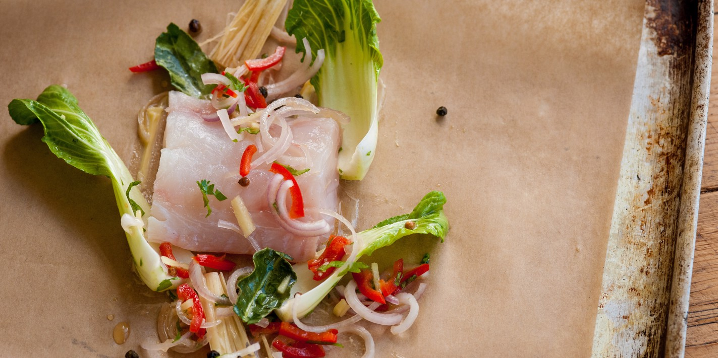 How to cook haddock en papillote