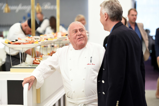 Albert Roux OBE: one of the greats