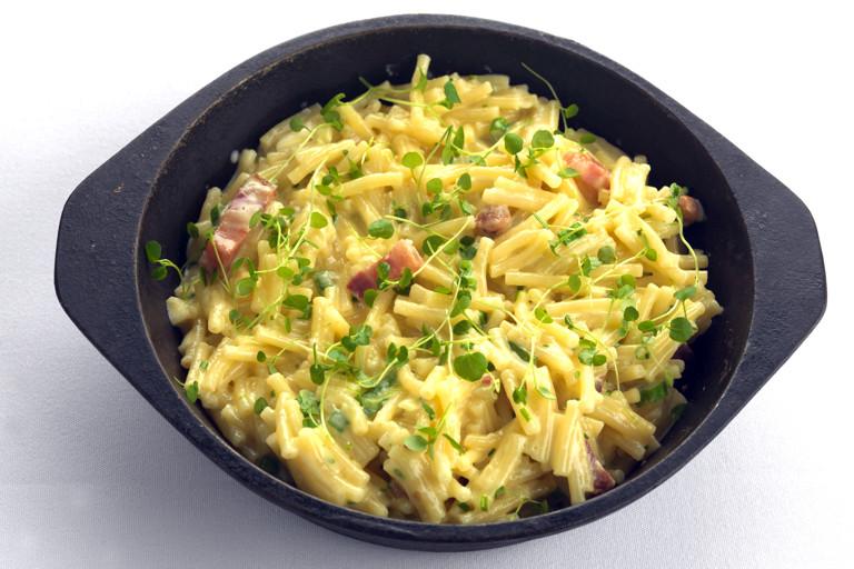 Quick bake macaroni cheese