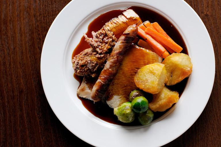 Christmas turkey gravy
