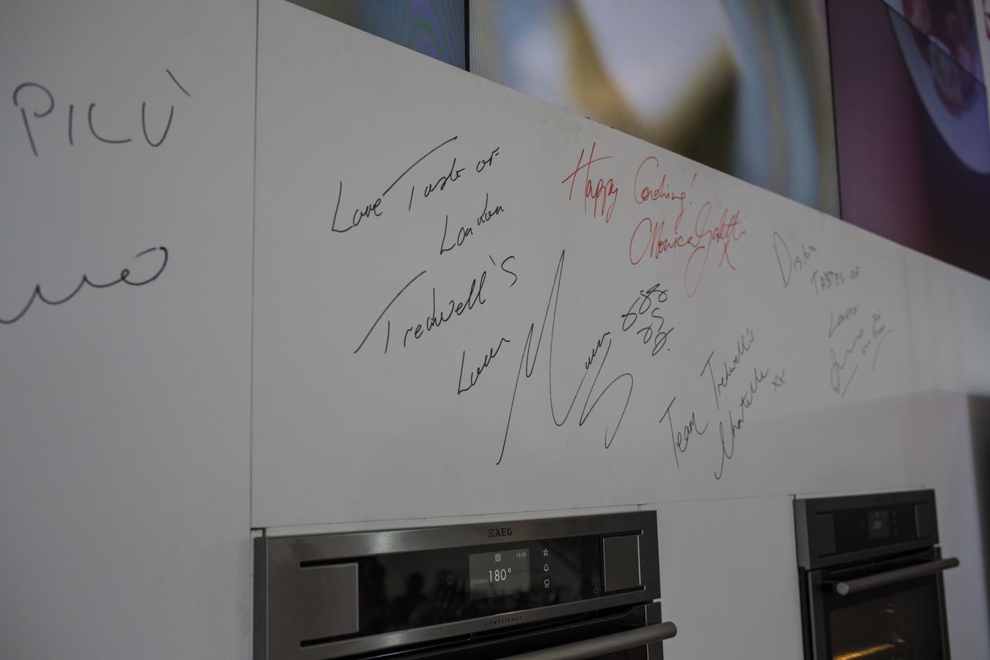 Chef signatures