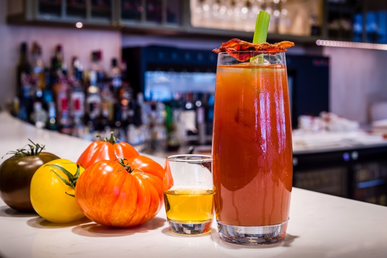 Barbecue Bourbon Bloody Mary