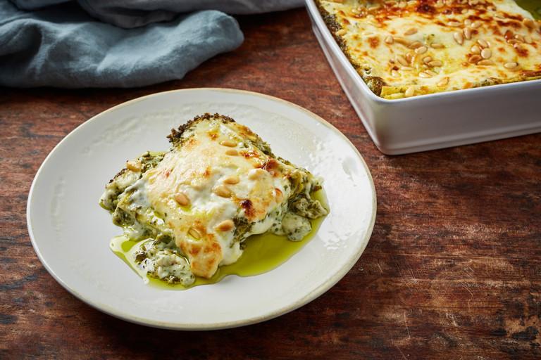 Lasagne alla Portofino - Pesto lasagne