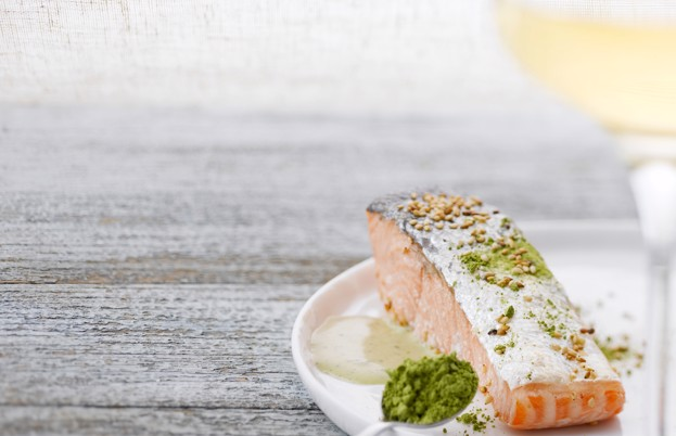 Pair a young Riesling with the freshest seafood to enhance that mineral saltiness