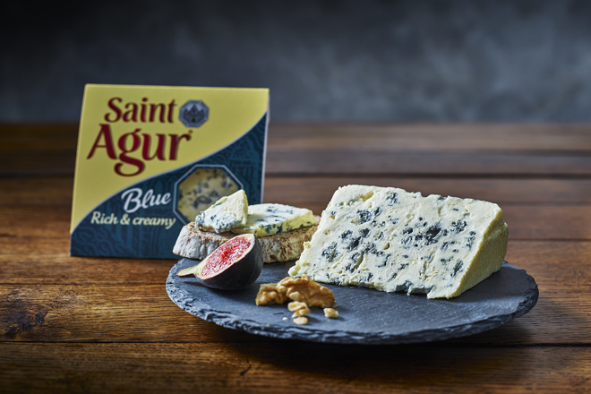 Saint Agur: blue gold from the Auvergne