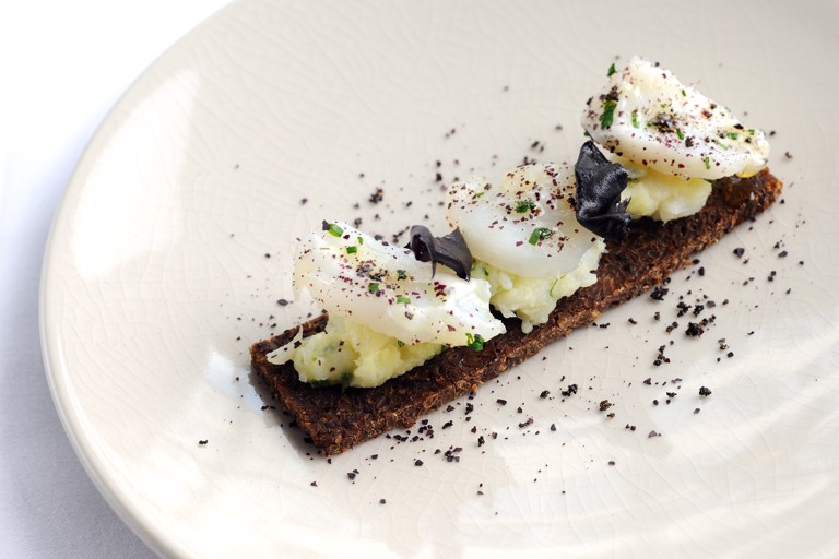 Cod brandade and olive tapenade