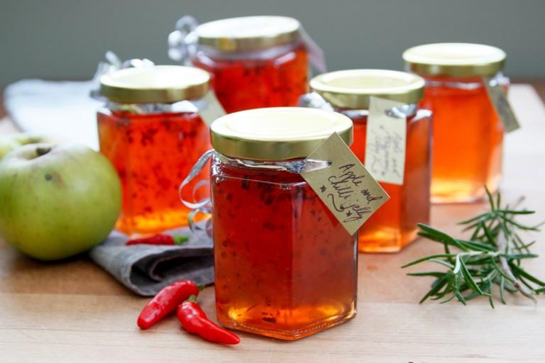 Festive apple jellies recipe