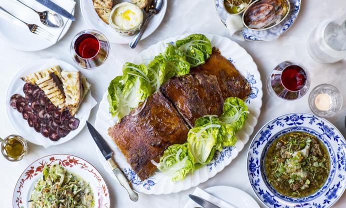 Pressing the pig: a Portugese Christmas