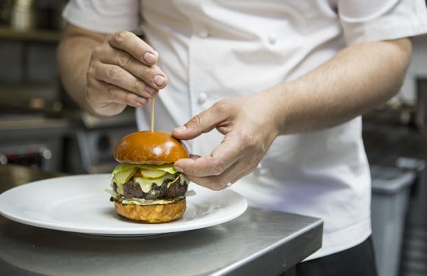 Heston burger