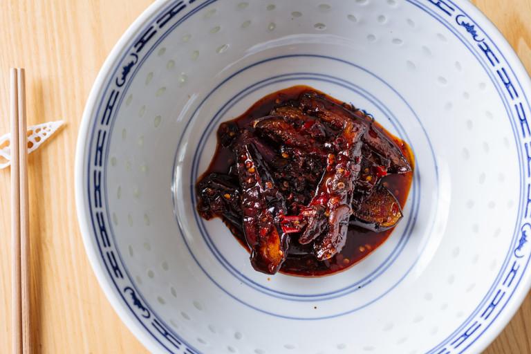Sichuanese aubergine
