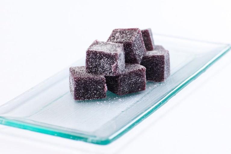 Blackcurrant fruit pastilles