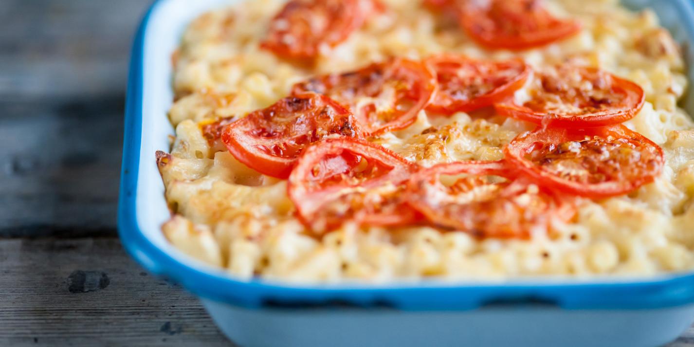 Tomato mac 'n' cheese