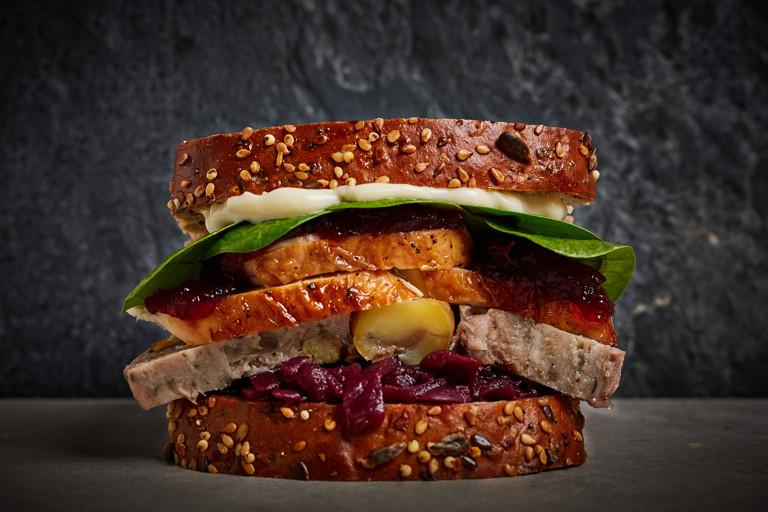 Ultimate Christmas leftovers sandwich