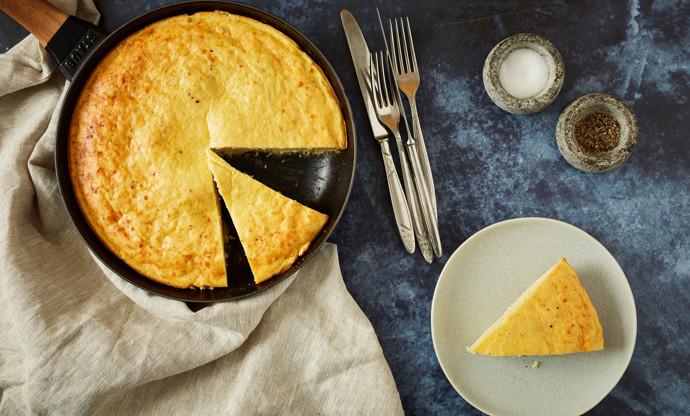 Rafanata – horseradish and pecorino tortilla