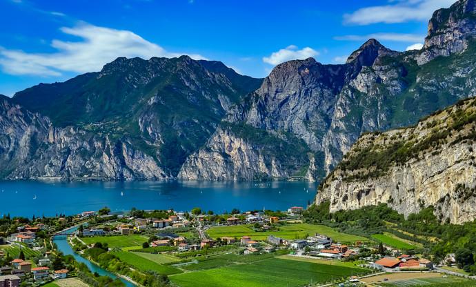 The food of Lake Garda