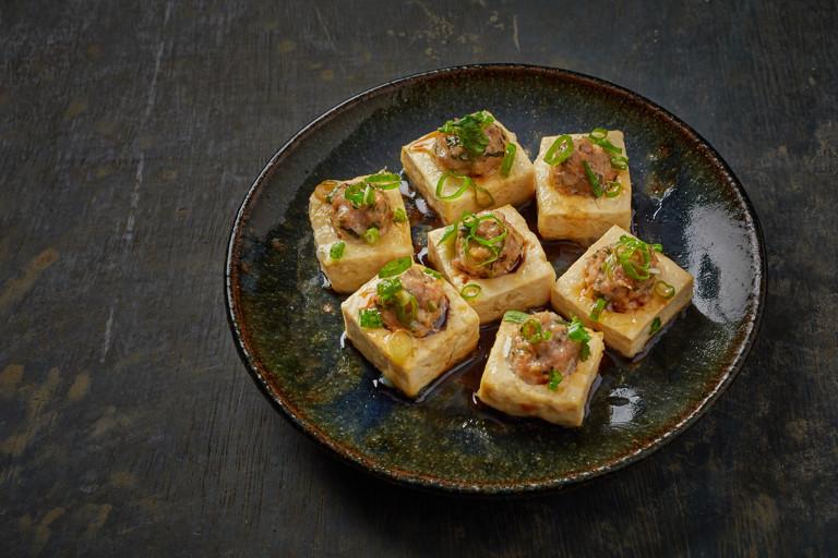 Hakka stuffed tofu