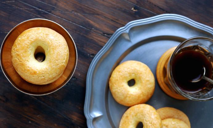 Algerian lemon and olive oil cookies