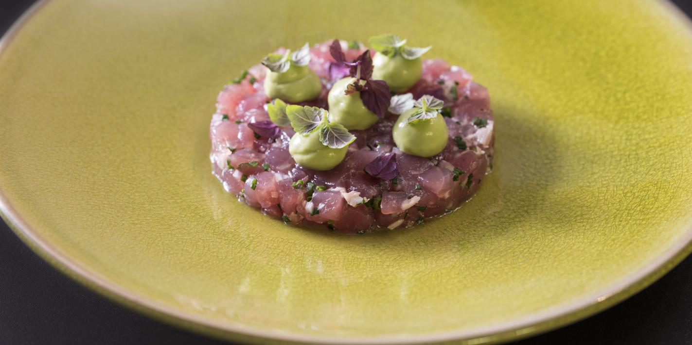 Mind to Menu: Gary Foulkes' tuna tartare with avocado, wasabi and shiso