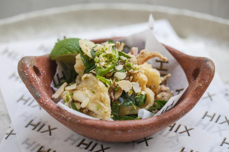 Crispy fried squid recipe
