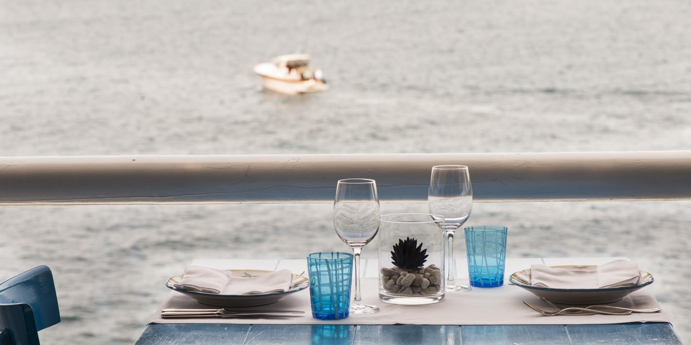 Romantic restaurants in Italy