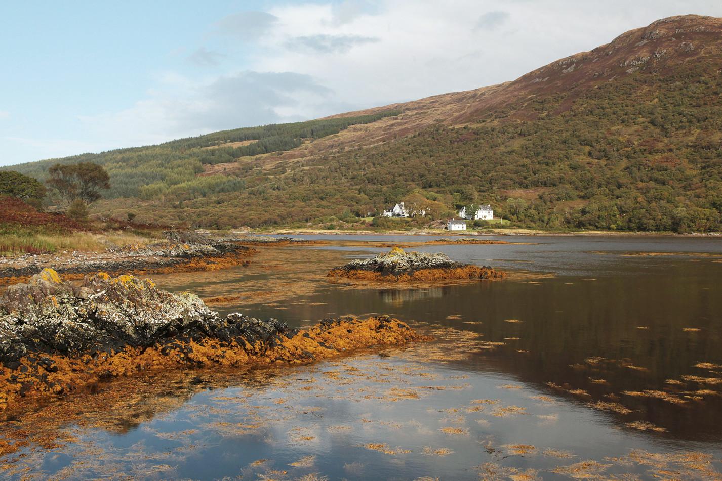 In the Skye coastline