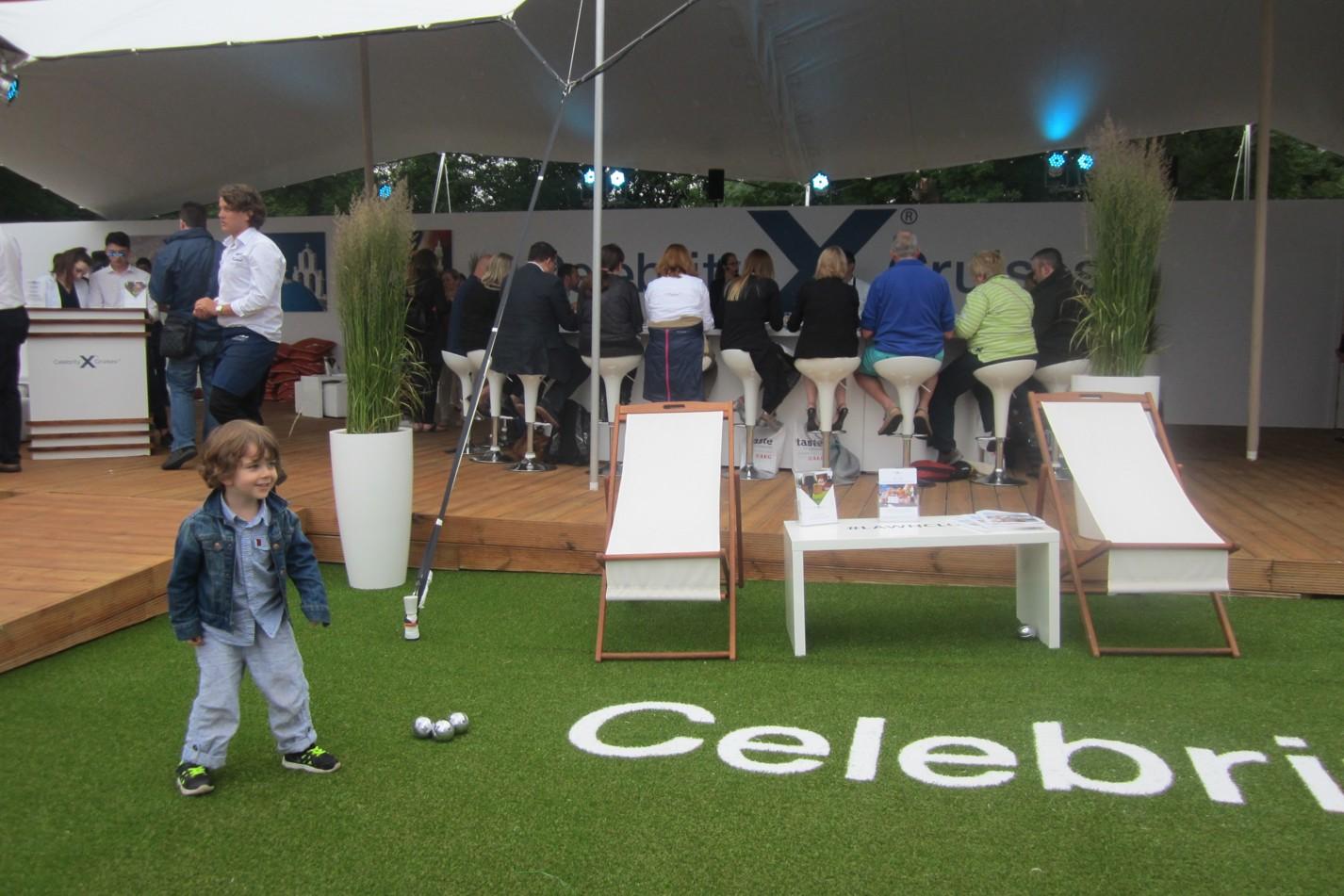 Celebrity Cruises' Lawn Club