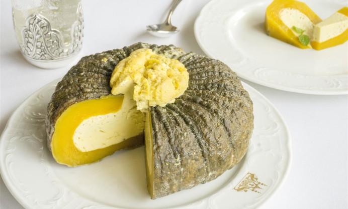 Sang Khya L'peouv (pumpkin custard)