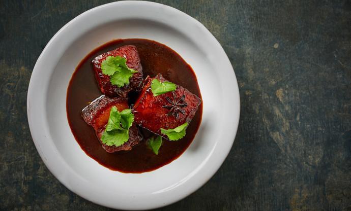 Dong bo ro – dark soy braised pork belly